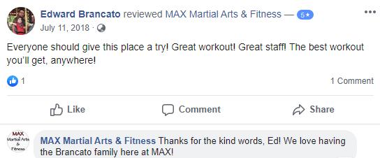 Adult 1, MAX Martial Arts & Fitness Farmingdale