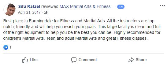 Adult 3 Teen, MAX Martial Arts & Fitness Farmingdale
